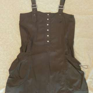 Brown outer dress