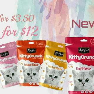 Kit Cat Kitty Crunch 60g