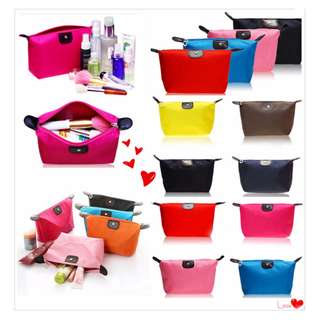 Tas kosmetik cosmetic pouch tas import tempat lotion lipstick - FTS004