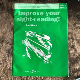Paul Harris Improve your sight reading (grade 2 piano)