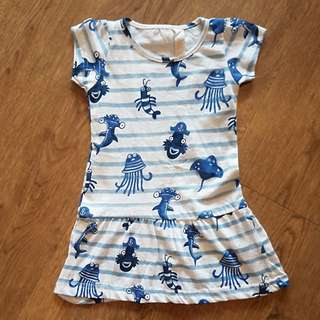 Cotton Girl Tee 1y-2y