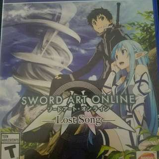 Sword Art Online Ps4