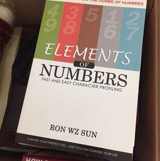 Elements of numbers