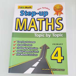 Primary 4 Step-Up Maths Topic by Topic