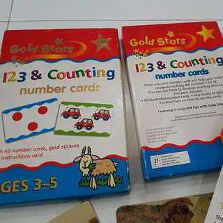 123 & Counting Number Cards