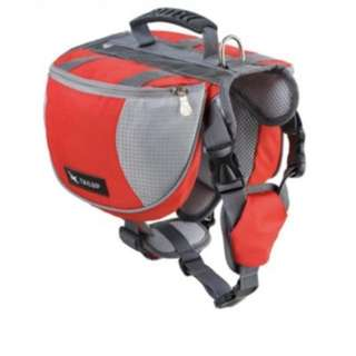 [In-Stock] Backpack Bag for Large Dogs (Red Only)