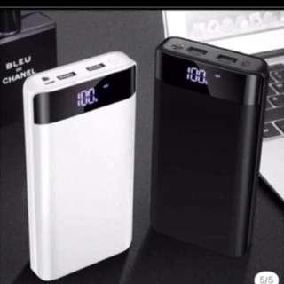 新款充電寶20000ma,黑白兩款