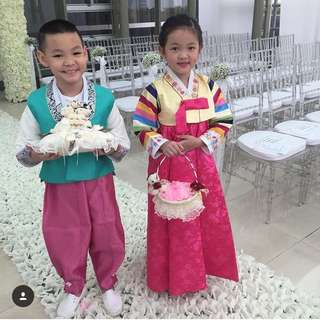 Hanbok Boy and Girl