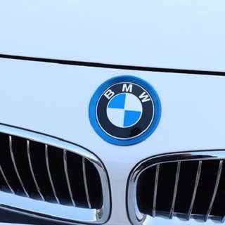 🚚 BMW 前後標裝飾框 M3 M4 F34 F80 F31 F32 F32 F36 F82 F83 沂軒精品 A0419