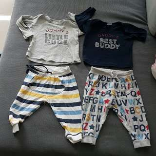 Baby set for 6-12 m
