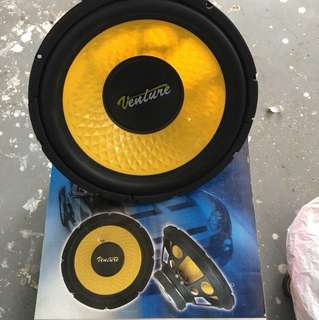 Woofer one pair 12""