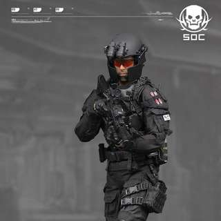 Damtoys 1/6 Ghost Series Special Operations Center - Ryder Watson