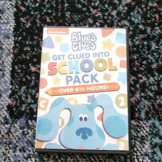Blue's Clues Get Clued Into School Pack
