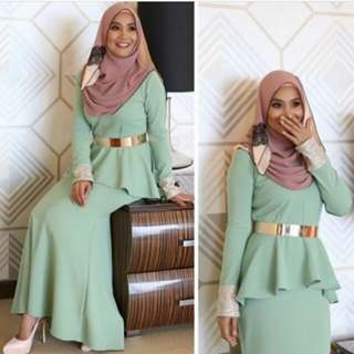 **reduce rm50 peplum dress