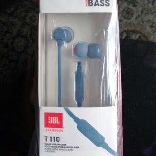 Earphones JBL T110