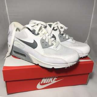 Nike Airmax 90 White snd Gray Colorway