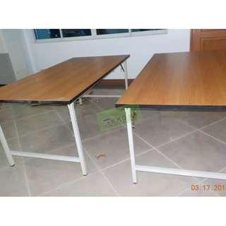 FOLDABLE TRAINING TABLES 180Wx90Dcm--KHOMI