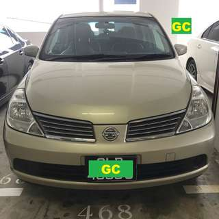Nissan Latio CHEAPEST RENT AVAILABLE FOR Grab/Uber Use