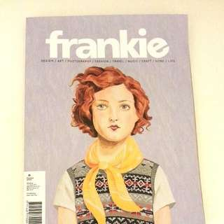 REDUCED Frankie Magazine