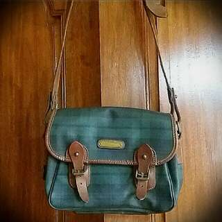 RALPH LAUREN messenger bag (AUNTHENTIC)