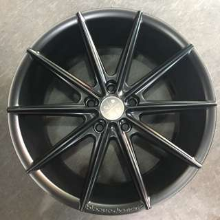 "18"" blaque diamond rims"