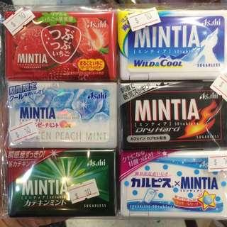 日本Mintia 薄荷糖