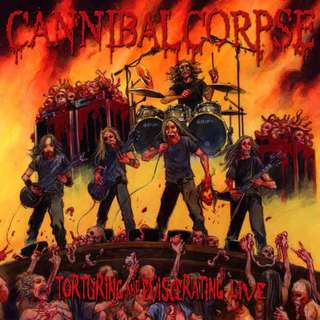 Cannibal Corpse – Torturing And Eviscerating Live CD