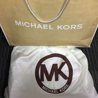 Michael Kors Large Hamilton Perforated Leather Logo Tote Bag