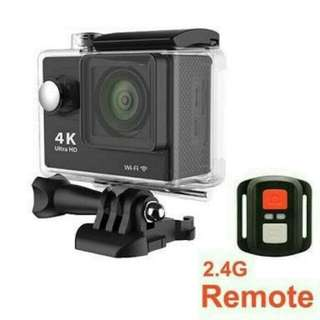 ACTION CAMERA 4K WIFI SPORT CAMERA HD 1080p WATERPROOF + REMOTE