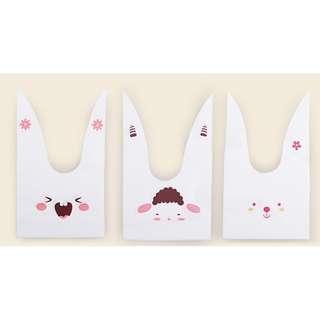 🚚 長耳朵兔子包裝袋30只裝