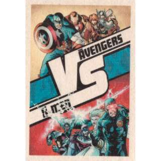 Movie Poster - X-Men vs Avengers ( 3.5in x 5.9in )