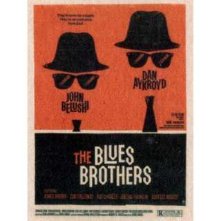Movie Poster - BLues Brothers ( 3.5in x 5.9in )