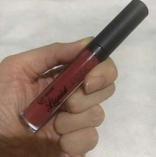 EverBilena Liquid Lipstick in Vamp Red