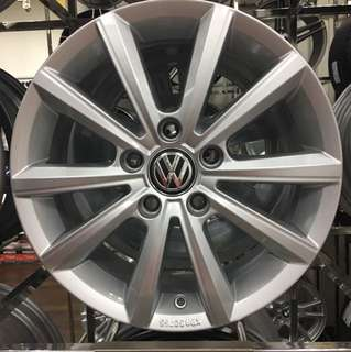 "New 16"" VW rims"