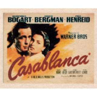 Movie Poster - Casablanca ( 3.5in x 5.9in )