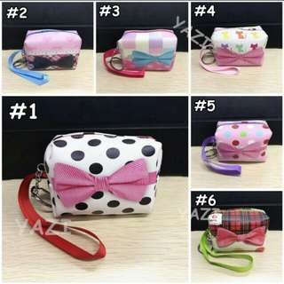 Gift Knot Coin Purse Pouch