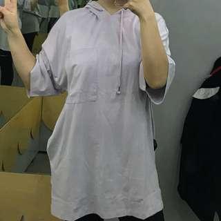 Monki hoodie dress/ top