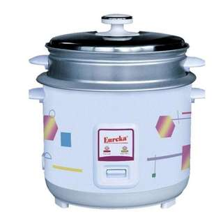 Eureka rice cooker with steamer