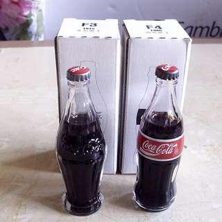 迷你可樂演變玻璃瓶子兩枝