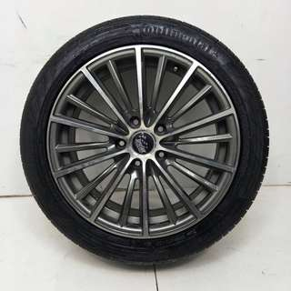 17 '' Sport Rim With Tyre 5x114.3 (SR836)