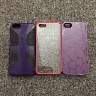 Iphone 5/5s phone cases (BUNDLE!)