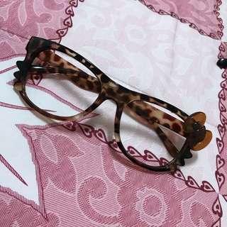 🚚 造型眼鏡,無鏡片