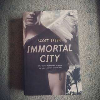 Scott Speer's IMMORTAL CITY Hard Covered Book