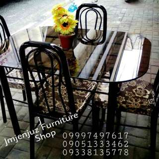Glass Dining Table 4 seaters
