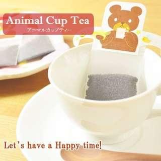 🚚 «Kimi Shop»日本➜預購 日本製療癒系動物掛耳紅茶包