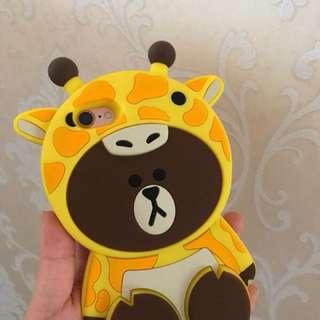 手機殻~IPhone7/8 Plus case  熊大
