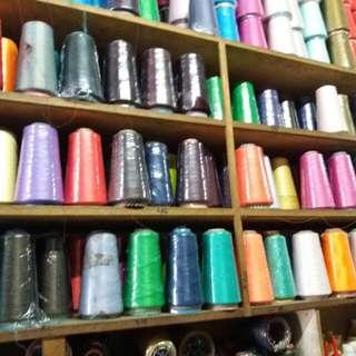 Nylon thread for edging