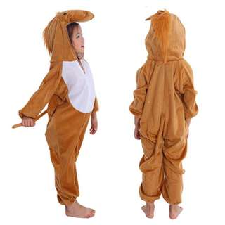 Deluxe Children Horse Big Head Dress Costume Animal Fairytale Outfit