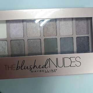 Auth. Maybelline Nude Eyeshadow Palette