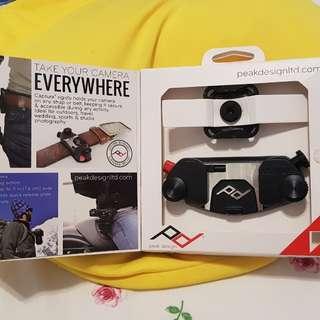 Peak Design Capture camera clip.